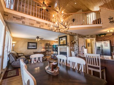 Photo for 4 Seasons Escape - Pet friendly home between Boone & Blowing Rock with hot tub, game table.