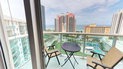Photo for Beautiful 2 BR w/ Balcony on Sunny Isles - Two Bedroom Apartment, Sleeps 4