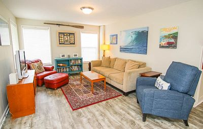 Photo for Retro-Surf Family Fun With Spacious Yard, Hot Tub, and Allows Pets!