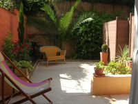 Lovely spacious property and courtyard garden.