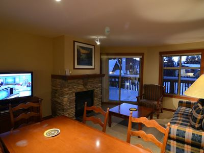 Photo for Premium Mountain/Village views Spacious Ski-In/Out condo sleeps 8. Summer A/C
