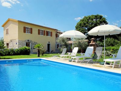 Photo for 3 bedroom Villa, sleeps 10 in Gržići with Pool, Air Con and WiFi