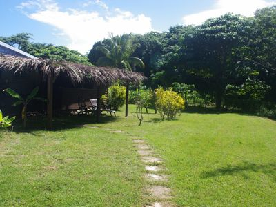 Photo for Comfortable bungalow 300 meters from the beach in Guadeloupe (4 people)
