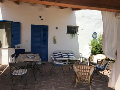 Photo for COZY VILLA IN THE COUNTRYSIDE A FEW KM FROM THE BEAUTIFUL SEA OF CARDEDU. APP. TO.