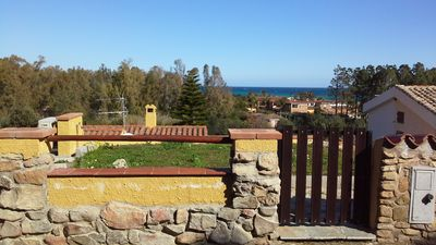 Photo for Cottage with sea view, 300 m from the beach, 4PL