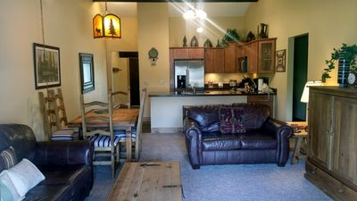 Photo for BC West #L-4: Deluxe 2BR Condo w/ FREE Skier Shuttle, Heated Pool, Hot Tubs