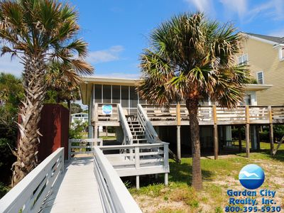 Photo for Shangri-La -Seven-bedroom oceanfront beach house in Surfside Beach
