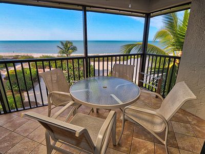 Photo for Top Floor, Gulf Front Condo, Located on West Gulf Drive - Sayana of Sanibel 303