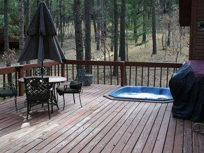 Large Deck, Hot Tub and Gas Grill