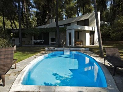 Photo for Large villa in Sani with a private swimming pool