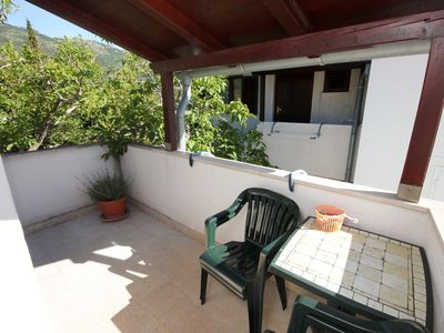 Photo for One bedroom apartment with terrace Brseč (Opatija)