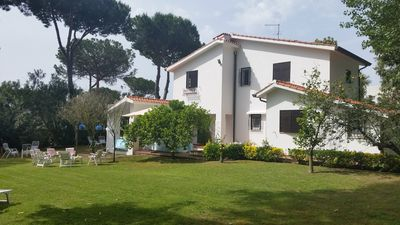 Photo for San Felice Circeo -  Elegant and spacious villa surrounded by nature