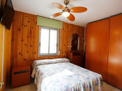 Photo for Apartment 100 m from the center of Cunit with Washing machine, Air conditioning, Pool, Terrace (89045)