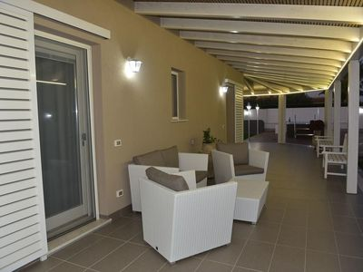 Photo for Luxury Villa Ulisse with Jacuzzi, Bath en Suite, few steps from the Beach, Santa Maria del Focallo