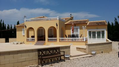 Photo for Villa with Private Pool set in Extensive Grounds and Fantastic View of Mountains