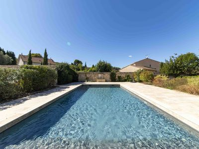 Photo for SAINT-ETIENNE-DU-GRES - PEACEFUL HOUSE WITH POOL - 8 PEOPLE