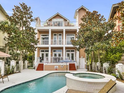 Photo for Stunning 30A Vacation Home w/ Stunning Gulf Views, Private Pool & Pool House!