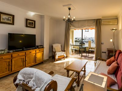 Photo for 2. 1 Carabeo 2000: Bel apartement-, sea view, 1 to 5 pers. , Free WIFI.