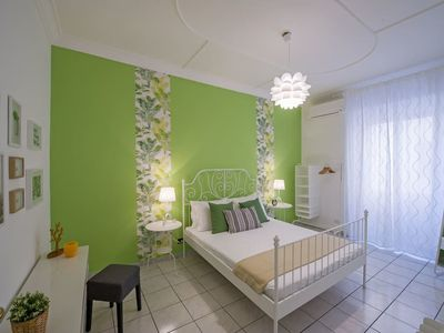 Photo for Colourful 3 bed flat in trendy San Giovanni!