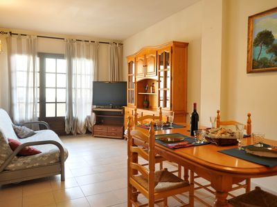 Photo for appartment close to the beach of riells
