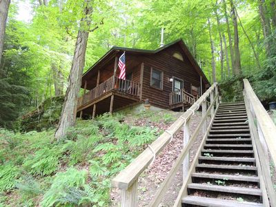 Photo for Boch Hollow Cabin surrounded by Hocking Hills Nature Preserve