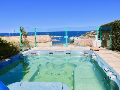 Photo for Villa in Porto Cervo with 6 bedrooms sleeps 10