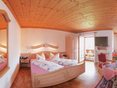 """Photo for Apartment 40 sqm No. 6 + 7 -. Guesthouse """"Ludwig Thoma"""" Inns & Apartments"""