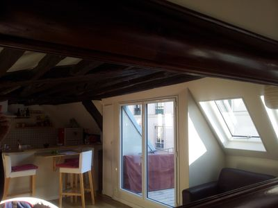 Photo for Apartment with terrace in the heart of the Marais