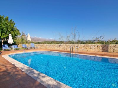 Photo for Beautiful private villa for 7 people with A/C, private pool, WIFI, TV, balcony and parking