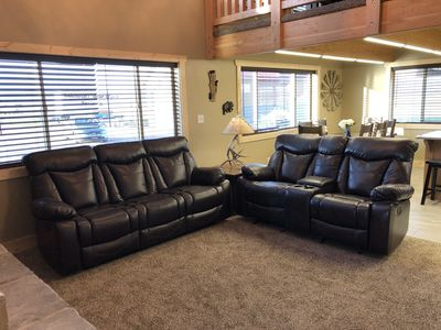 Comfy recliner couches