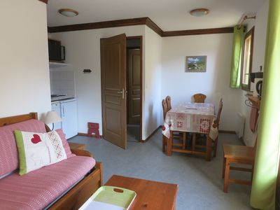 Photo for Apartment 4/6 people Valloire dominant while 300 m from the center