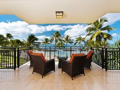 Photo for Direct Oceanfront 2 Bed, 2 Bath Luxury Condo (B3H)