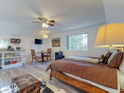 Photo for Dog-friendly, newly remodeled studio - includes breakfast vouchers