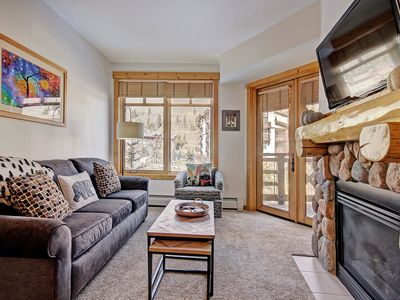 Photo for Tucker Mountain 2BR Condo Center Village Short Walk to Slopes Updated
