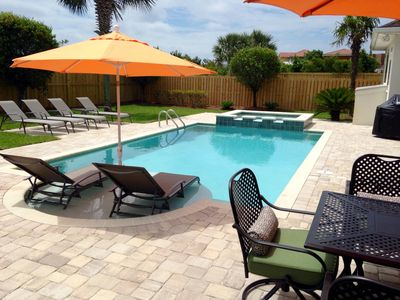 Fabulous new pool and patio area!