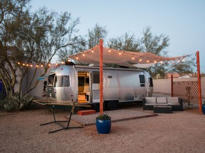 Photo for Airstream Tiny Living on Small Farm in the Desert