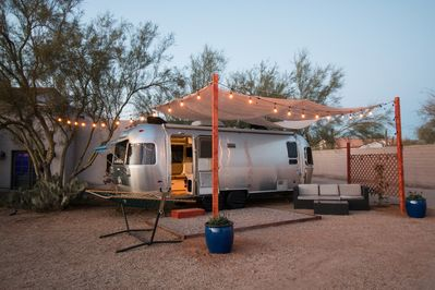Airstream Tiny Living on Small Farm in the Desert - Cave Creek