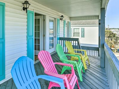 Photo for Charming North Myrtle Beach House - Walk to Beach!