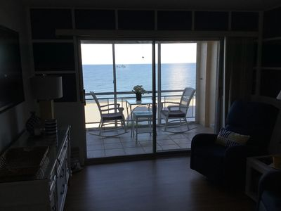 Photo for UNOBSTRUCTED DIRECT GULF BEACH FRONT  - 2/2 - CONDO