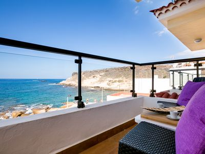 Photo for Very nice, new apartment in La Caleta, sea view