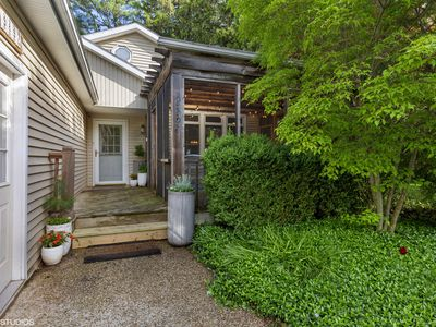 Photo for Cedar Hollow Cottage: 4 Bed/2 Bath with HOT TUB and steps to beach!