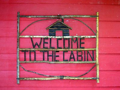 Photo for The Cabin at Little Willow Creek - Mountain Shabby Chic