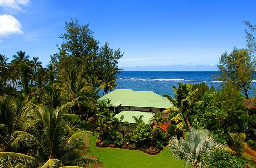 Fly lax to kauai direct 365 jan thru march vrbo kauai blue lagoon is direct beachfront you can see the barrier reef solutioingenieria Image collections
