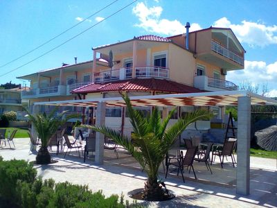 Photo for 50 Meter bis zum Strand: Pension Delfini mit Terrasse