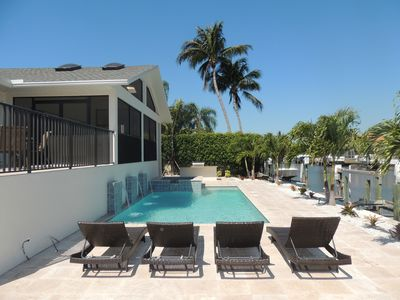 Photo for Waterfront Custom Home Near White Sands Of Vanderbilt Beach (w/new pool )
