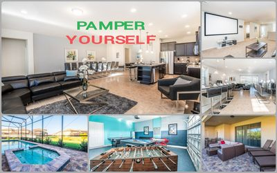 Photo for ***Pumper Yourself Large New Home Six Miles from Disney Great Share Families***