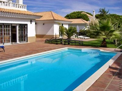 Photo for House With one Bedroom in Huelva, Nuevo Portil, With Pool Access, Encl