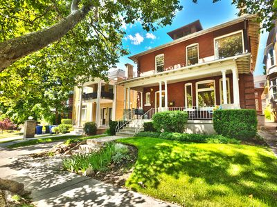 Photo for Historic home in the lower Avenues, 3 blocks to Temple Square and City Creek.