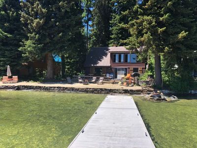 Photo for Two Newly Remodeled Vintage Lakefront and Back Cabin
