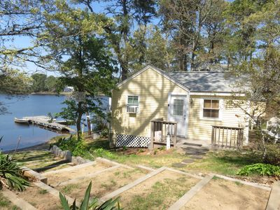 Photo for Cottage Located On Fresh Water Pond With Beach And Boats